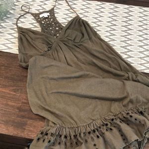 American Eagle Olive Green Dress